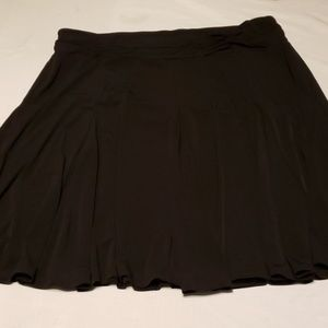 Plus size 1x black skirt by apt 9